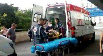 Dessas vítimas, sete foram encaminhadas para o Hospital da Restauração
