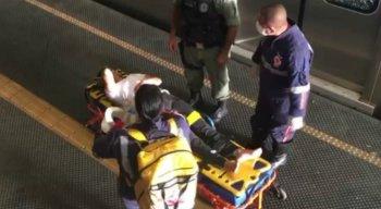 O acidente aconteceu na manhã desta terça-feira (18), na Estação Ipiranga