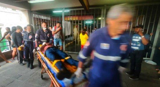 Acidente no Metrô do Recife