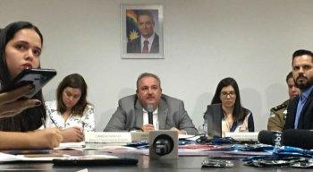 Secretário Estadual de Saúde, André Longo, concedeu entrevista coletiva para dar os detalhes