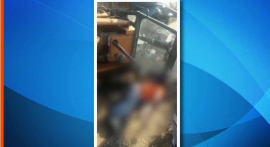 Homem morre esmagado por retroescavadeira em Gravatá