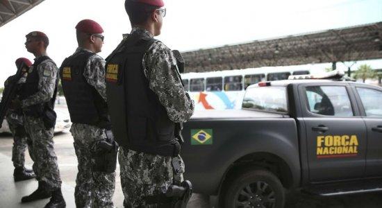 Força Nacional é enviada ao Ceará para apoio nas ações de segurança