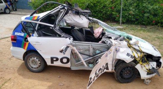 Sargento da PM morre e soldado fica gravemente ferido após acidente em Belo Jardim