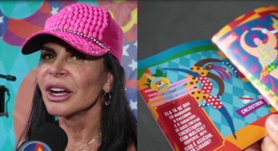 ''A gente tem que ser respeitada'', afirma Gretchen em campanha contra assédio às mulheres no Carnaval