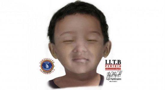 A criança aparenta entre dois e três anos de idade e foi encontrada morta no dia 13 de janeiro