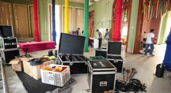 Carnaval 2020: os detalhes do camarote da TV Jornal, no Recife Antigo