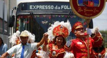 Carnaval 2020: confira os esquemas de ônibus 'Expresso da Folia'