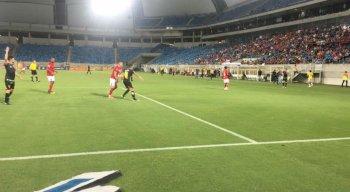 O confronto entre América-RN x Sport aconteceu na Arena das Dunas.