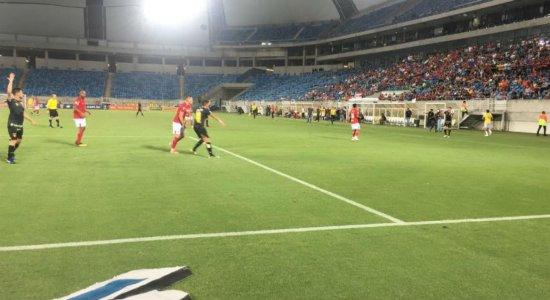 Sport briga até o final e empata com América-RN pela Copa do Nordeste