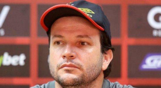 Daniel Paulista diz estar decepcionado com o Sport