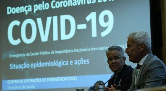 Ministério da Saúde atualiza os números e casos de coronavírus sobem para 77 no Brasil