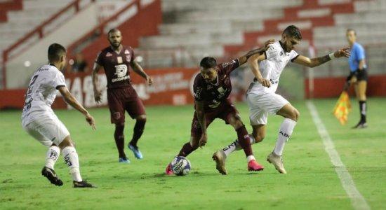 Veja gols de Náutico 1 x 1 ABC pela Copa do Nordeste