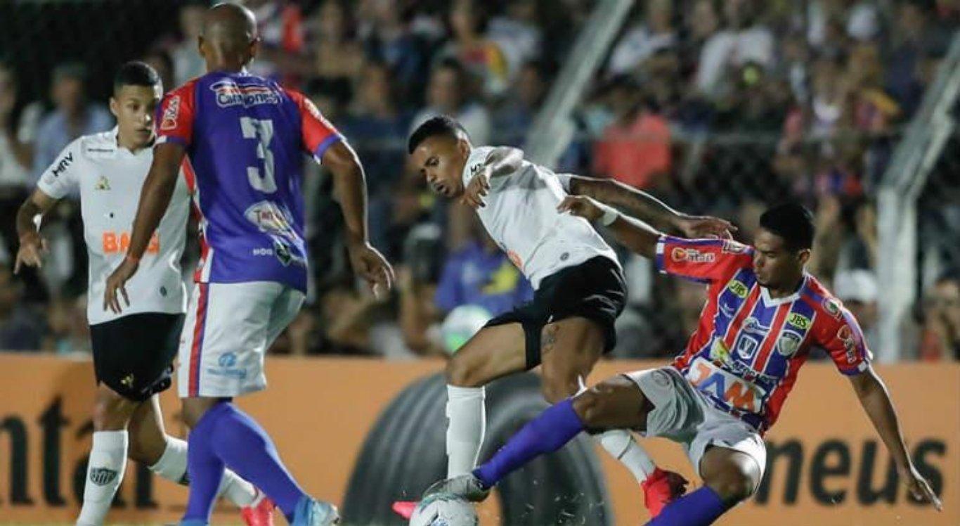 Afogados elimina Atlético-MG da Copa do Brasil