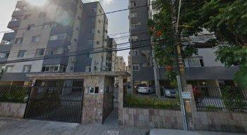 A mulher havia ido no bloco onde a mãe morava quando o acidente aconteceu