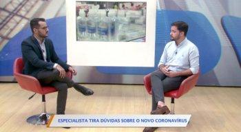 Médico Gabriel Serrano esclareceu as principais dúvidas sobre o coronavírus