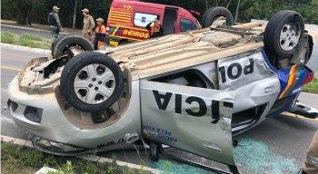 Ainda não há informações sobre o que provocou o acidente