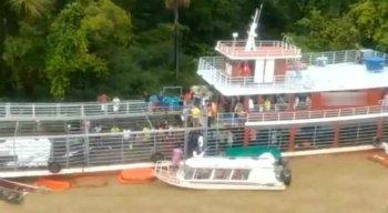 A causa da tragédia pode ter sido os fortes ventos e chuva que teriam virado o barco nas proximidades da Boca do Rio Jarí