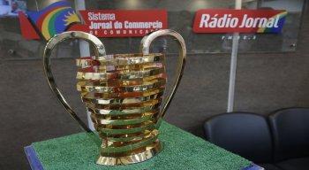 Orelhuda da Copa do Nordeste no estúdio da Rádio Jornal