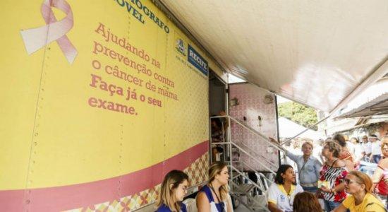 Mamógrafo móvel realiza mais de 3 mil atendimentos em março no Recife