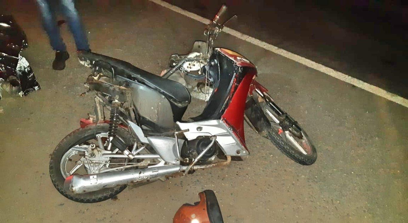 Motociclista foi arrastado