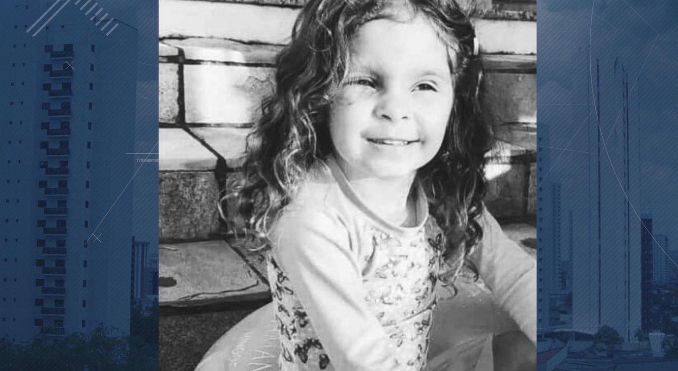 Criança de quatro anos morreu após o acidente