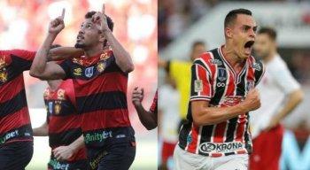 Hernane e Victor Rangel são as principais esperança de gols do Clássico das Multidões pela Copa do Nordeste