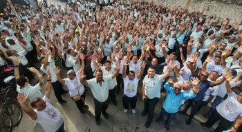 Rodoviários da Metropolitana em assembleia no Recife