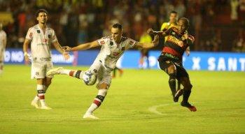 Victor Rangel era dúvida para a partida contra o Sport