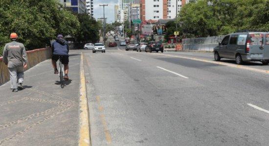 Obras: Ponte da Torre, no Recife, será interditada todos os finais de semana de março