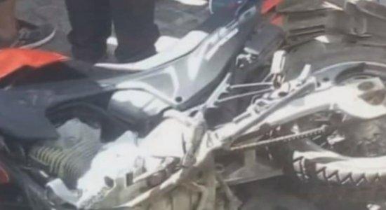 Moto havia sido roubada pelos suspeitos