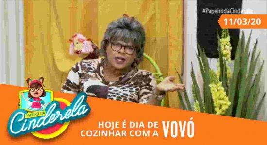 PAPEIRO DA CINDERELA - Exibido quarta-feira 11/03/20