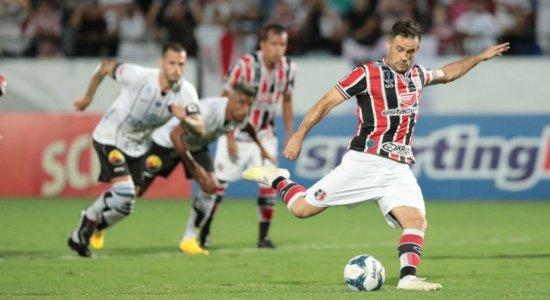 No Arruda, Santa Cruz goleia Botafogo-PB pela Copa do Nordeste