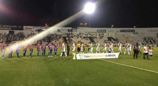 Afogados é derrotado pela Ponte Preta e se complica na Copa do Brasil