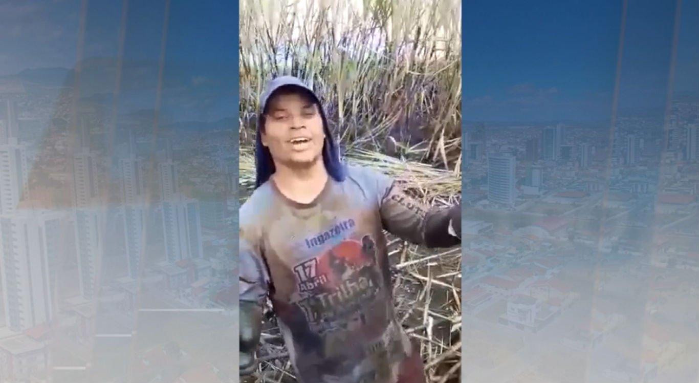 José Clécio de Melo, 33 anos, trabalha como cortador de cana desde os 14 anos