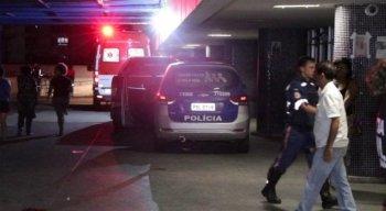 A vítima deu entrada na emergência do Hospital da Restauração