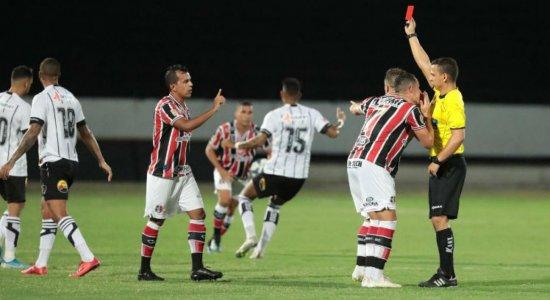 Presidente do Santa Cruz critica árbitro da partida contra o Botafogo-PB