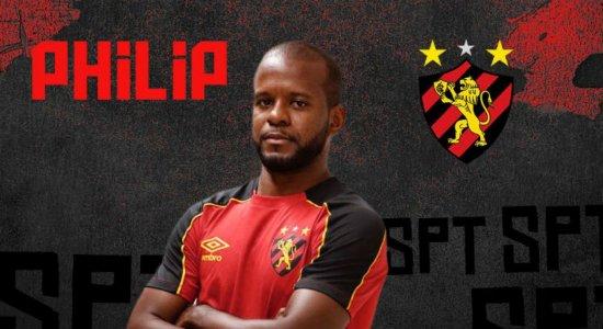 Sport anuncia a contratação do atacante Philip