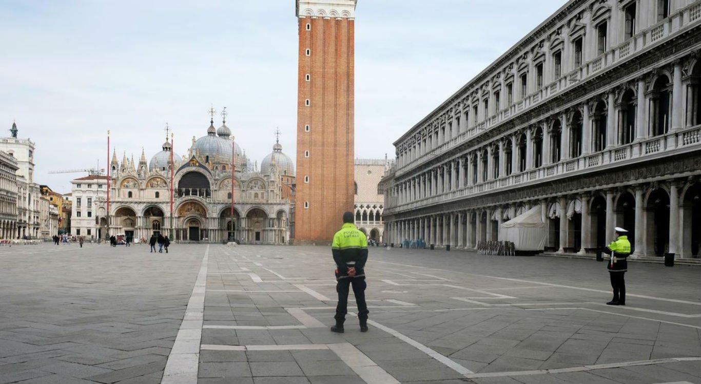 Itália sofre com o coronavírus