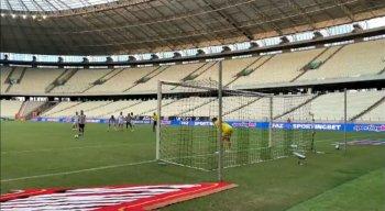 Ceará e Sport realizaram a partida com o Castelão de portões fechados.