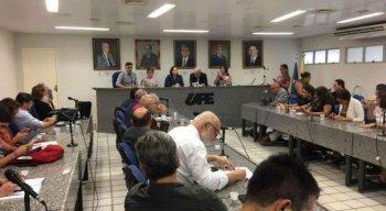 Reunião da reitoria da UPE decidiu pela suspensão das aulas