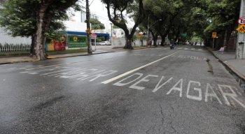 O movimento tranquilo foi registrado em diversas áreas do Recife