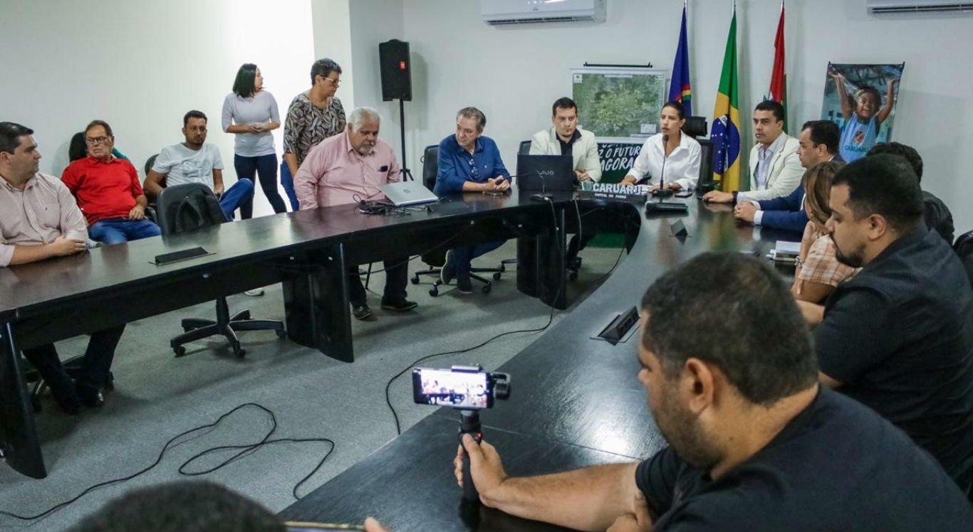 Coletiva de imprensa sobre coronavírus foi realizada pela Prefeitura de Caruaru