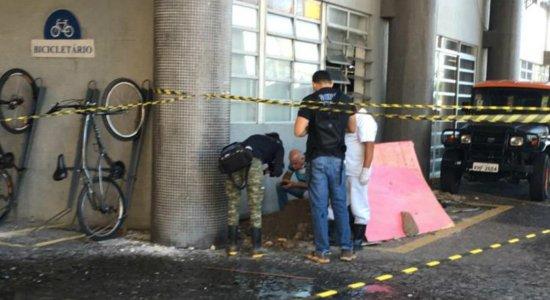 Ossada é encontrada em estacionamento da Secretaria da Fazenda de Pernambuco