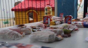 Serão distribuídos 270 toneladas de alimentos, totalizando 90 mil kits