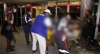 O vendedor cubano, de 34 anos, foi levado ao Hospital da Restauração
