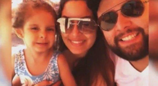 Pai de menina falam sobre a dor de perder a filha