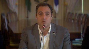 Governador de Pernambuco, Paulo Câmara, fez pronunciamento informando novas ações