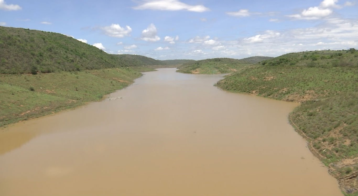 Barragem de Jucazinho está com 8,12% da capacidade total