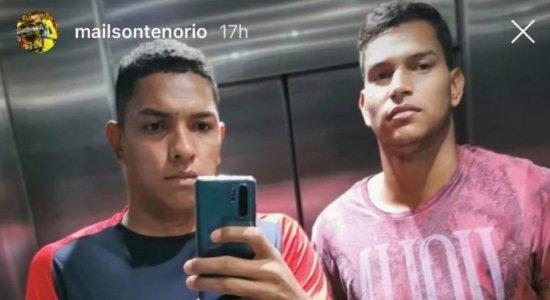Em quarentena devido ao coronavírus, goleiro do Sport revela treinamento com o irmão