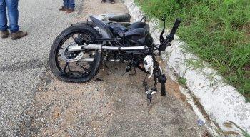 Motociclista morreu